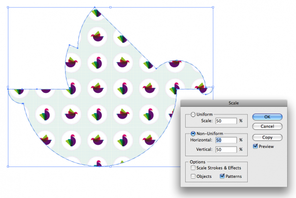 How to create fill patterns in Adobe Illustrator - Image Three