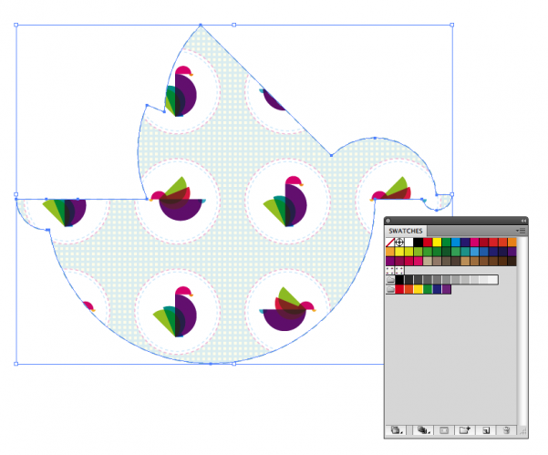 How to create fill patterns in Adobe Illustrator - Image Two