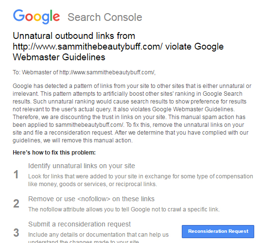Google penalty image