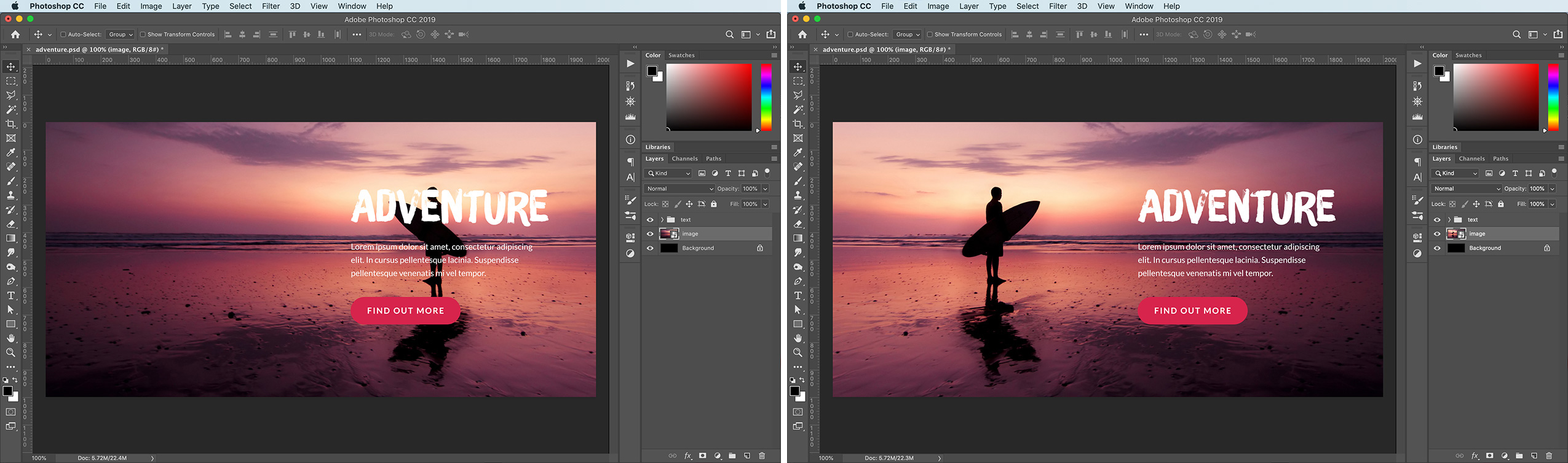 Photoshop Basics How To Flip An Image In Photoshop